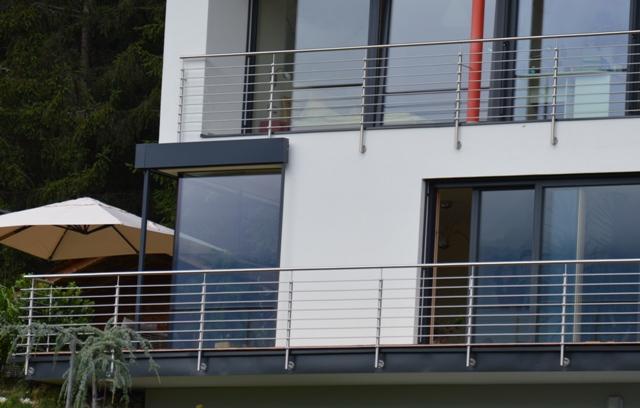 Schlosserei Gelander Balkon Terrasse Stiege