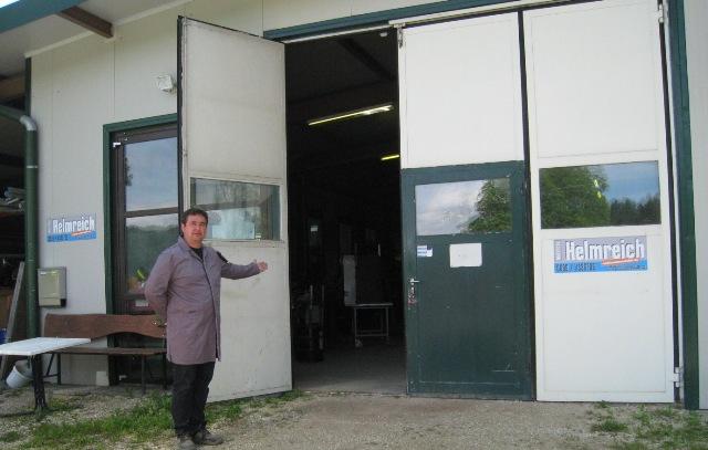 Willkommen in der Schlosserei Metallbau Helmreich